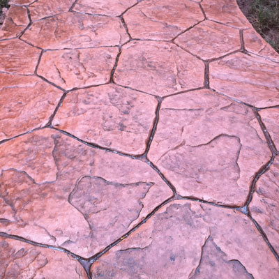 Amstutz Services - Stamped Concrete
